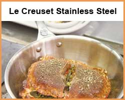 Le Creuset Premium Stainless Steel Cookware