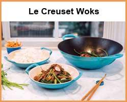 Le Creuset Woks