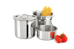 All-Clad Stainless Steel Multi-Cookers with Lid