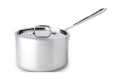 All-Clad Stainless Steel Saucepans with Lid