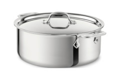 All-Clad Stainless Steel Stock Pots with Lid