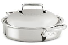 All-Clad d7 Stainless 4 Quart Braiser with Lid