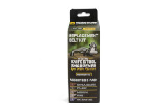 Work Sharp Knife and Tool Sharpener: Ken Onion Edition Assorted Belt Replacement Kit