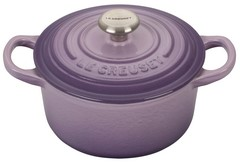 Le Creuset Signature Round 1 Quart French Cast Iron Oven Provence