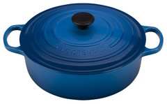 Le Creuset Signature Wide Round 6.75 Quart Cast Iron Oven Marseille