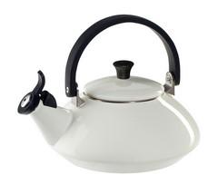 Le Creuset Enamel Steel Tea Kettle - Zen - White