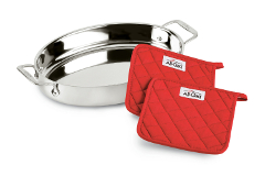 All-Clad Stainless Oval Baker Gift Set