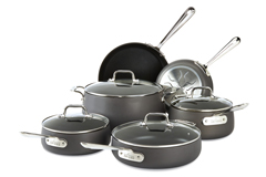 All-Clad HA1 10 Piece Cookware Set