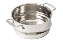 All-Clad Stainless 3 Quart Universal Steamer w/2 Loops