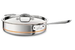 All-Clad Copper Core 6 Quart Saute Pan