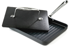 All-Clad HA1 Nonstick Panini Pan with Press