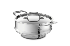 All-Clad Stainless Accessories 3 Quart All Purpose Steamer with Lid