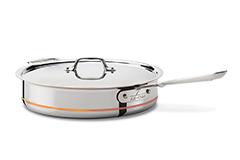 All-Clad Copper Core 5 Quart Saute Pan