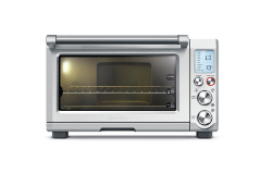 Breville Smart Oven Pro Convection Toaster Oven with Element IQ, 180W, Silver