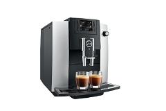 Jura E6 Automatic Coffee Machine Platinum