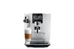 Jura J90 Automatic One-Touch Coffee Machine Brilliant Silver