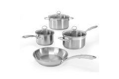 Chantal Induction 21 Stainless Steel 7 Piece Cookware Set