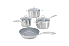 Chantal Induction 21 Stainless Steel 7 Piece Ceramic Coated Set