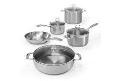 Chantal Induction 21 Stainless Steel 9 Piece Cookware Set