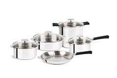 Cristel Mutine Stainless Steel 13 Piece Set