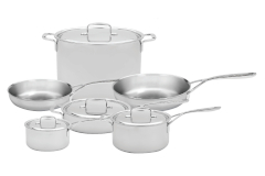 Demeyere 5-Plus 10 Piece Cookware Set