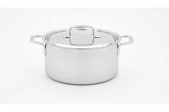 Demeyere 5-Plus 5.5 Quart Dutch Oven with Lid