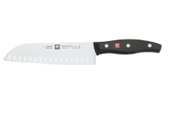 Zwilling J.A. Henckels Twin Signature 7 Inch Hollow Ground Santoku