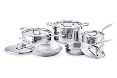 Hammer Stahl Stainless Steel 10 Piece Cookware Set