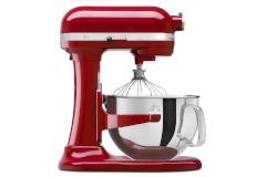 KitchenAid Professional 600 Series 6 Quart Standing Mixer Empire Red