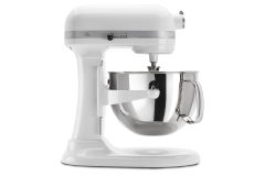 KitchenAid Professional 600 Series 6 Quart Standing Mixer Glossy White