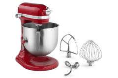 KitchenAid Commercial 8 Quart Standing Mixer Empire Red