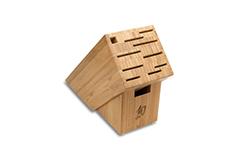Shun 11-Slot Bamboo Knife Block