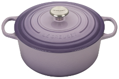 Le Creuset Signature Round 5.5 Quart French Cast Iron Oven Provence