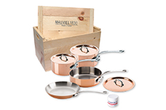 Mauviel M'heritage M'150s 7 Piece Set with Crate