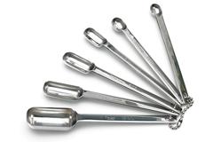 RSVP Endurance Stainless Steel 6 Piece Spice Spoon Set