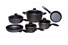 Swiss Diamond 10 Piece Cookware Set