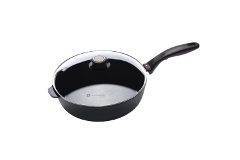 Swiss Diamond 3.2 Quart Saute Pan with Lid