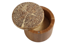 Totally Bamboo Tree of Life Salt Box