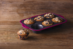 Trudeau Silicone 6-Count Muffin Pan