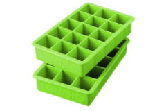Tovolo Perfect Cube Ice Trays Green