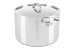 Viking 3-Ply 12 Quart Stainless Steel Stock Pot with Metal Lid