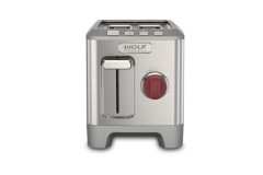 Wolf Gourmet 2-Slice Toaster Red Knob